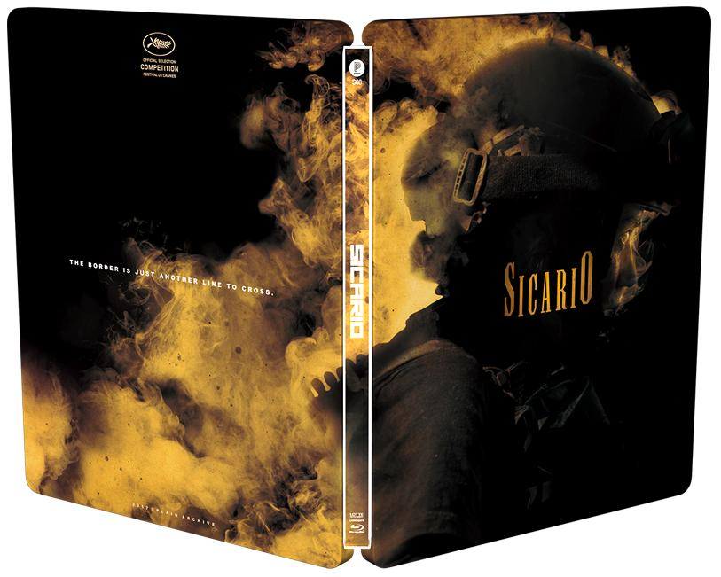 SICARIO Plain Archive steelbook ボーダーライン スチールブック