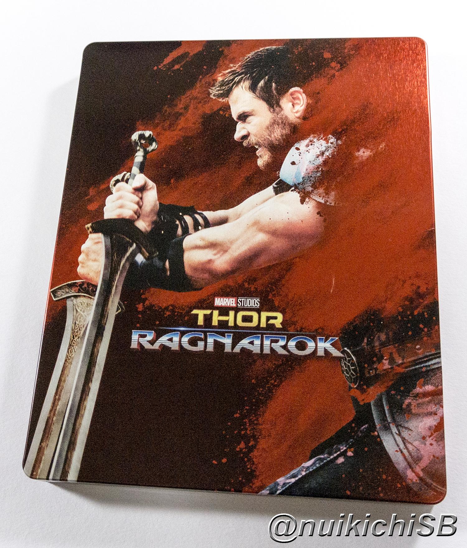 Thor: Ragnarok 4K Ultra HD zavvi steelbook マイティ・ソー バトルロイヤル スチールブック
