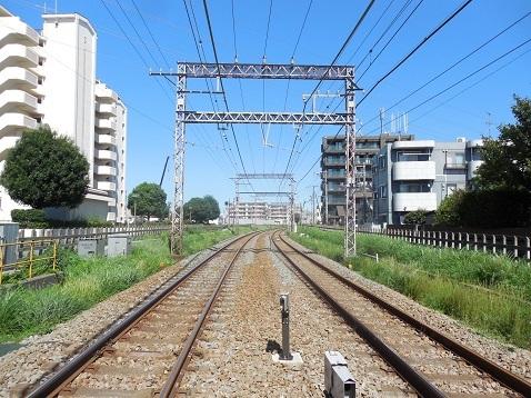 小田急江ノ島線の中央林間2号踏切@大和市d