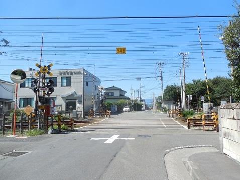 小田急江ノ島線の中央林間2号踏切@大和市a