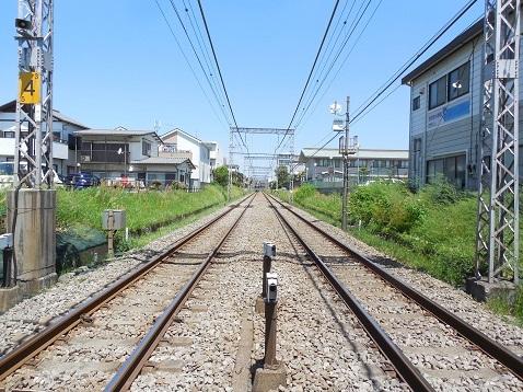 小田急江ノ島線の大和4号踏切@大和市d