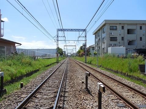 小田急江ノ島線の大和4号踏切@大和市e