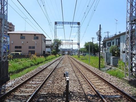 小田急江ノ島線の大和5号踏切@大和市e