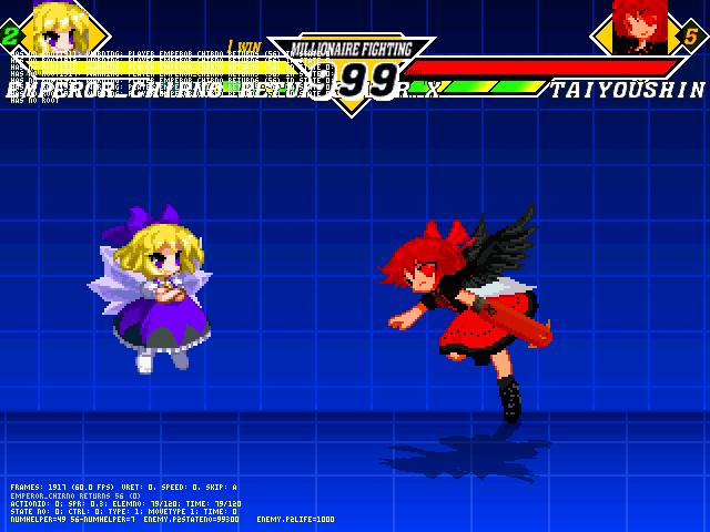 mugen chirno-RvX vs Taiyoushin