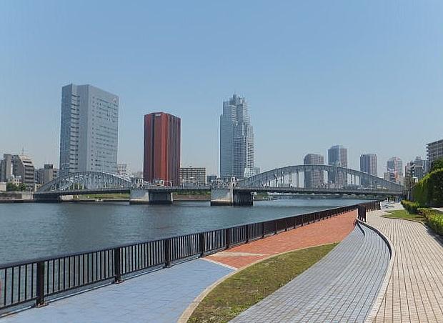 隅田川テラス写真