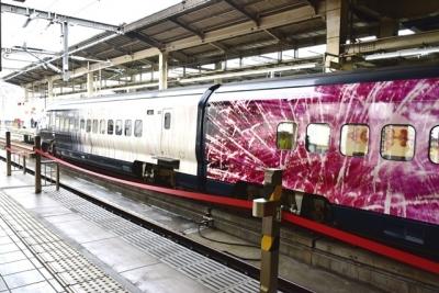 現美新幹線16号車(大宮駅にて撮影)