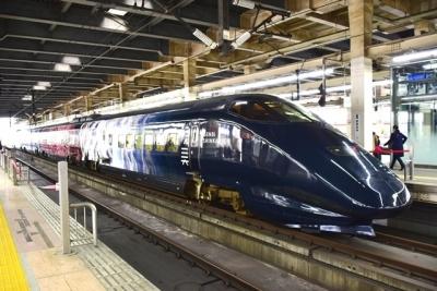 現美新幹線11号車(大宮駅にて撮影)