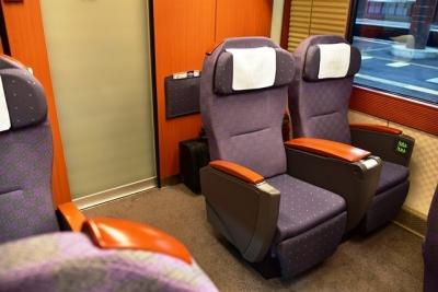 二人掛けシート  E655系なごみ