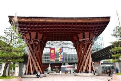 JR金沢駅鼓門