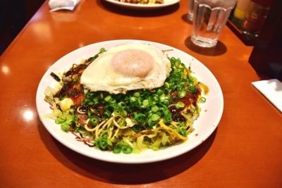 夕食は広島お好み焼き!!
