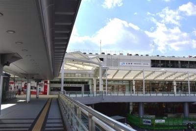 JR広島駅新幹線口ペデストリアンデッキ