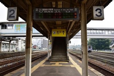 三次駅3番線ホーム