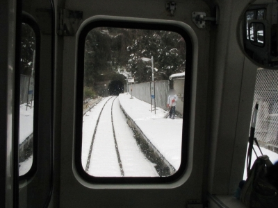 高架駅宇都井駅