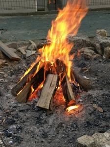 180310焚き火
