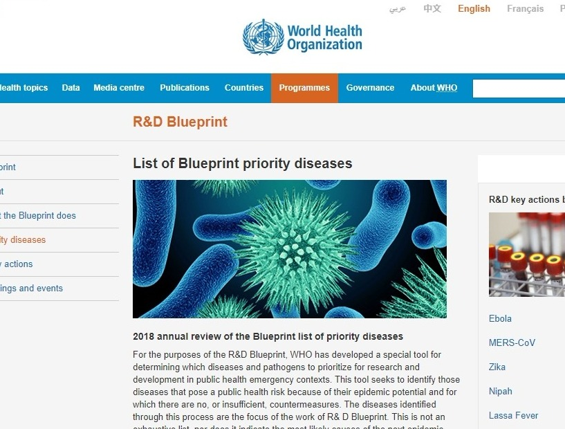 【WHO】謎の病原体「疾病X」が世界的に流行する可能性…数百万人が感染し、死を招くかもしれないと警告