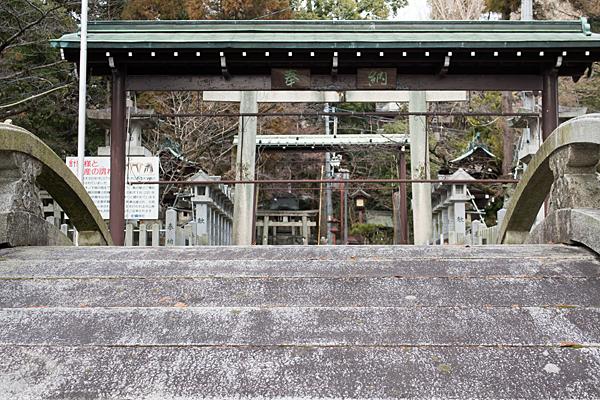 針綱神社太鼓橋