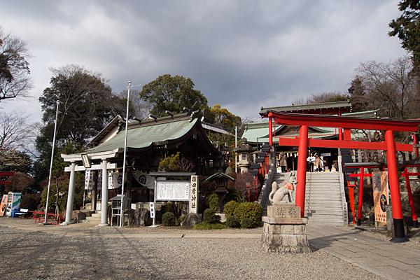 三光稲荷神社と猿田彦神社
