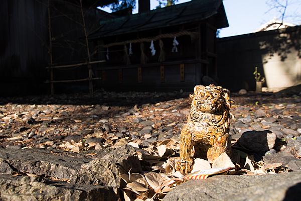 八幡社児子社陶製狛犬