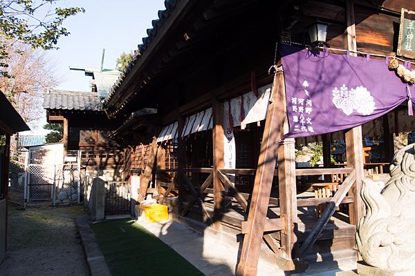 羊神社拝殿