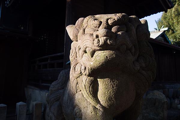 羊神社狛犬