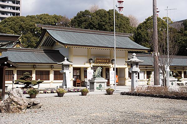 愛知縣護国神社社殿