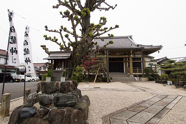 寺院内白龍社