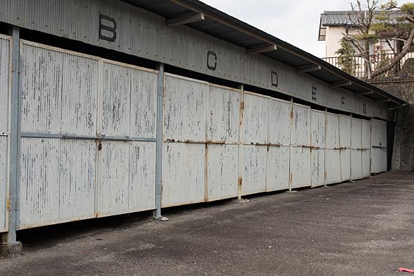 犬山城下ガレージ