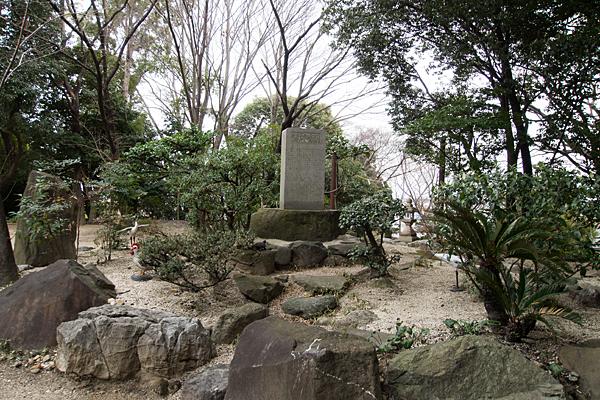 鳥栖八劔社石碑