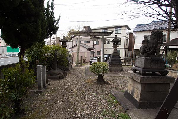 豊若宮八幡社境内の風景