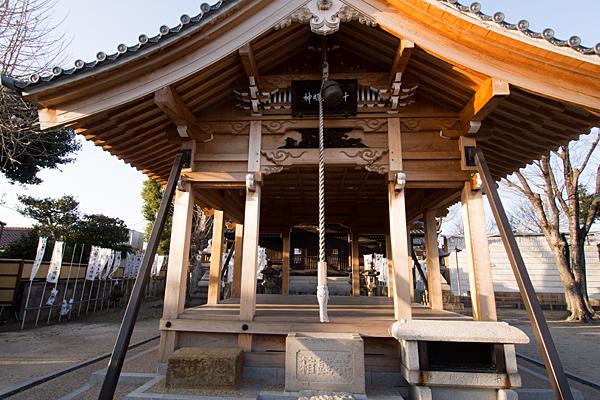 十所社拝殿
