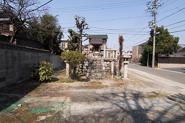 恵比子神社南正面から