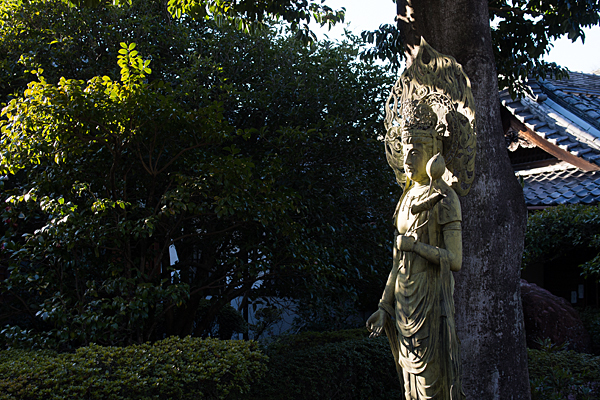 桃厳寺菩薩像