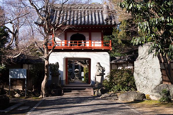 桃厳寺鐘楼門