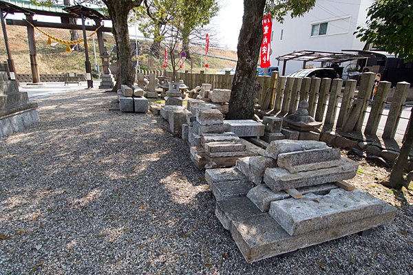 上小田井星神社名残