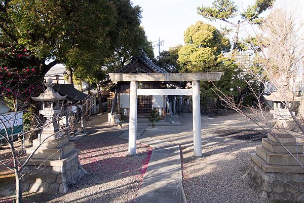 ハノ割稲荷神社