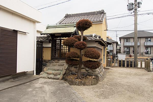 松城町3秋葉神社境内の風景