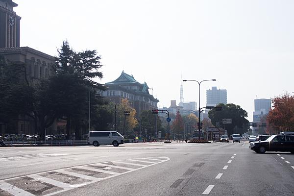 名古屋市役所県庁あたり