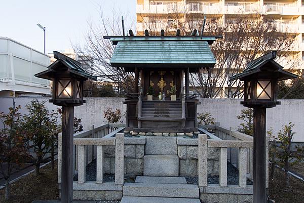 千代ヶ丘椿神社本社