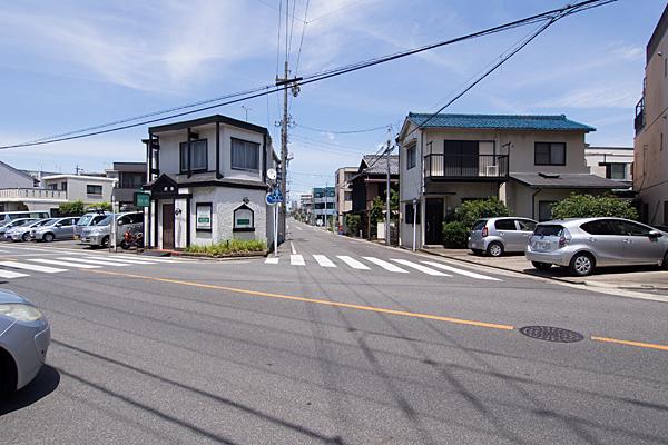 塩付街道と飯田街道