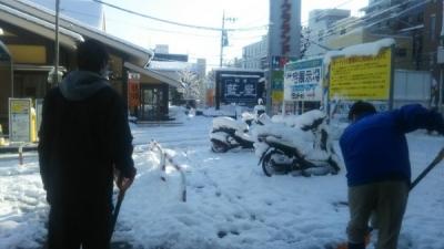 1-23雪かき1