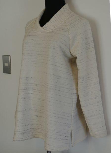 岩瀬さんの布で-1