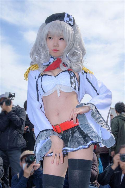 鹿島 レースクイーン 艦これ コスプレ 10
