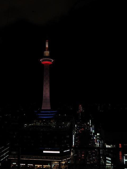 京都タワー(夜景)