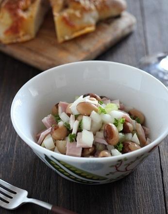 とら豆のサラダ1