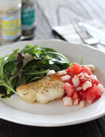 香りソルト鱈のソテー1