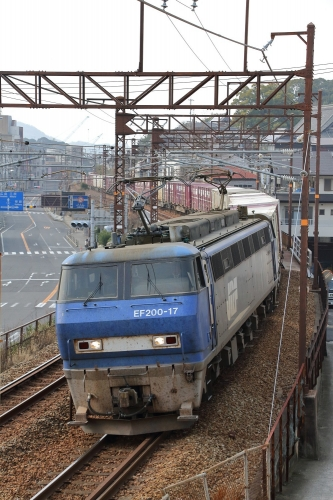 2070レ 尾道-東尾道