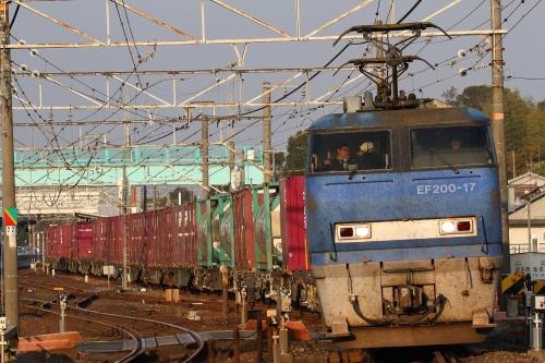 EF200-17所定運用・2081レ 里庄駅