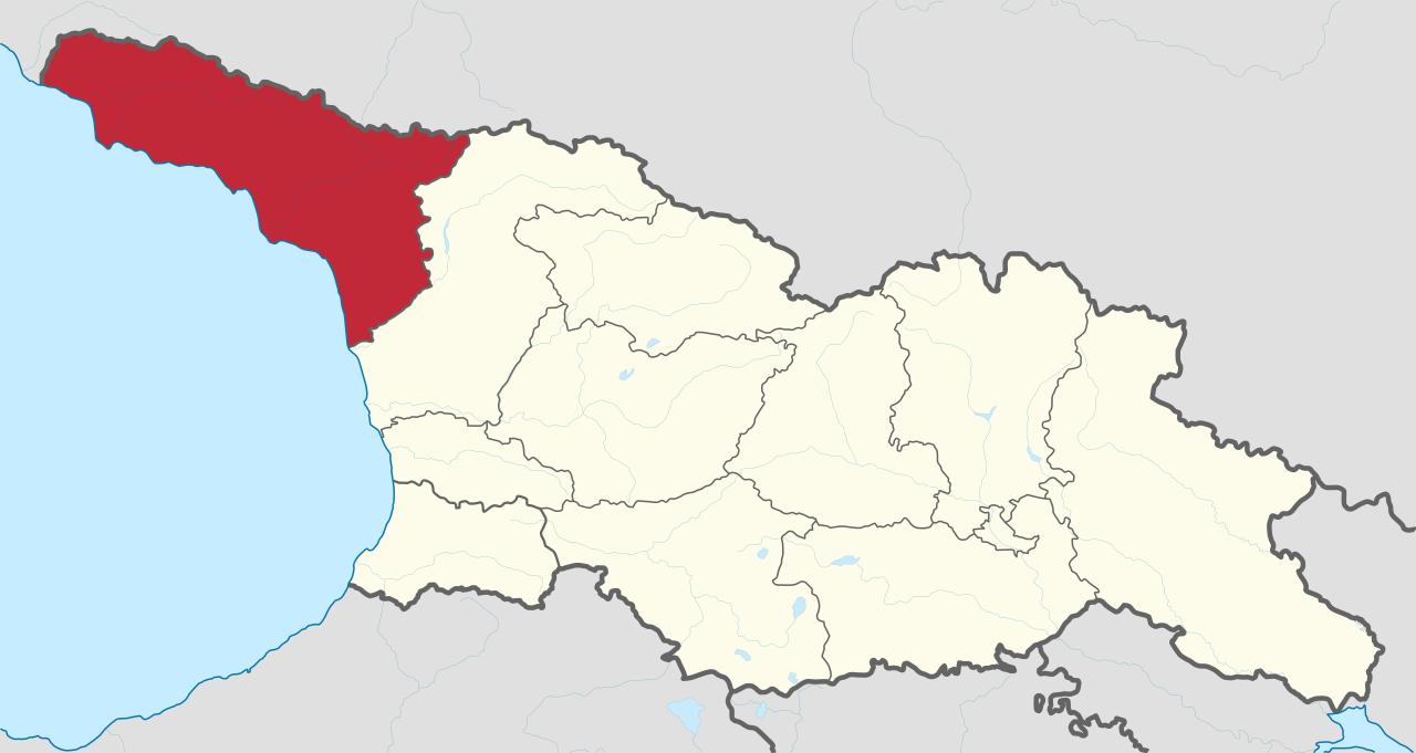 アブハジアの位置