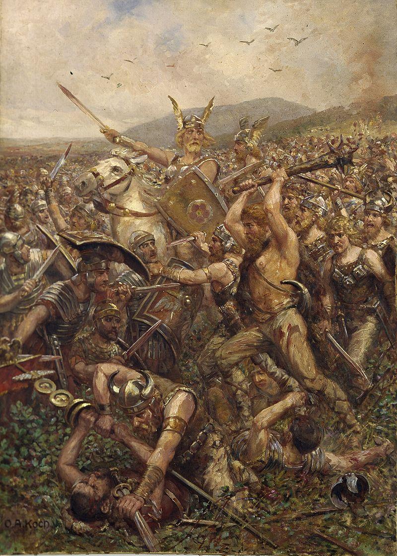 トイトブルク森の戦い