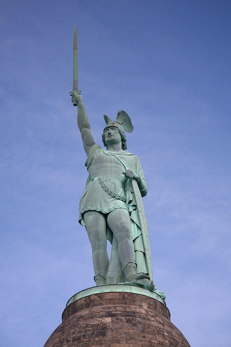アルミニウス立像(デトモルト)